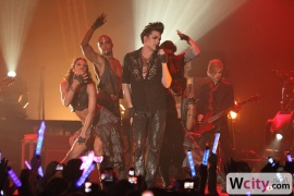 Adam Lambert Glam Nation Tour at HITEC