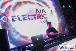 AIA Electric Run in Hong Kong 2014