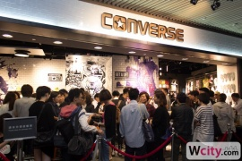 Converse Langham Place Store Opening Event