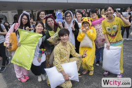 Hong Kong's 5th & Biggest Pillow Fight Day