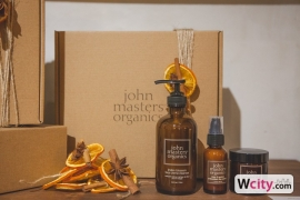 John Masters Organics Christmas Afternoon Tea