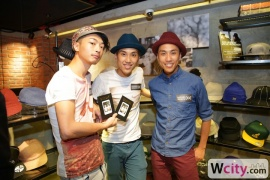 Kangol Pop-up Store Launch Party