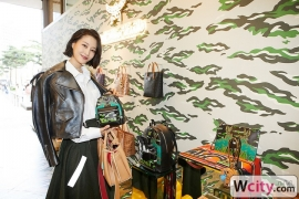 MCM AW19 pop-up store opening event