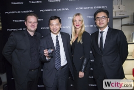 Porsche Design P9983 from BlackBerry Launch Party
