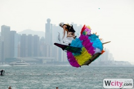Redbull Flugtag at West Kowloon Heliport