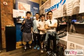 Saucony Exhibition Launch Party at C.P.U. Vintage